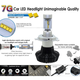 Car LED Headlamp Kit UP-7HL-H16W-4000Lm (H16, 4000 lm, cold white) Preview 2
