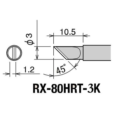Паяльное жало GOOT RX-80HRT-3K Превью 1