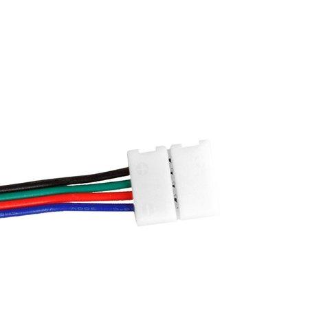 З'єднувальний кабель, 4-контактний, для світлодіодних стрічок RGB5050 WS2813, двосторонній Прев'ю 1