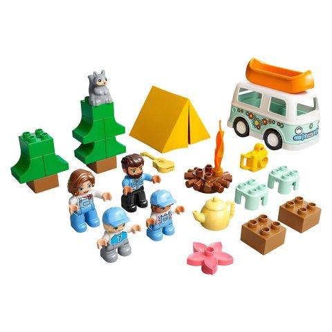 Конструктор LEGO DUPLO Семейное приключение на микроавтобусе 10946 Превью 2