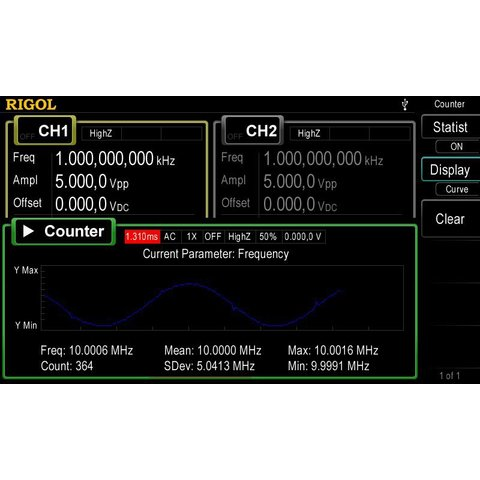 Arbitrary Waveform / Function Generator RIGOL DG4062 Preview 8